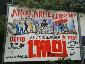 Die Plakate wurden gebraucht billig aus Kuba eingekauft