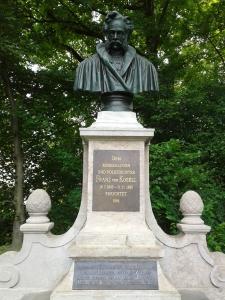 Die Inschrift unten lässt Franz von Kobell zu Recht mit den Augen rollen.
