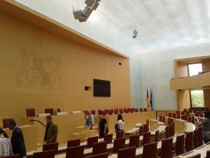 Die Herzkammer des bayerischen Parlamentarismus.