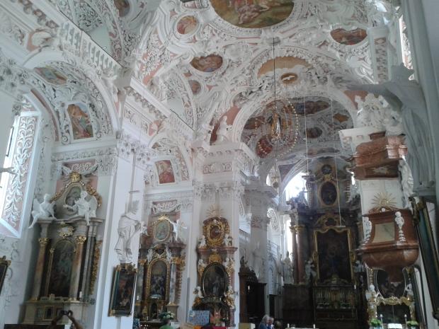 Die Kirche hat eine aufwändige Sanierung hinter sich, und das hat sich auch gelohnt.