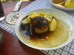 Die berühmte Bamberger Zwiebel.