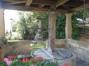 Der Dorfbrunnen in Mürsbach.