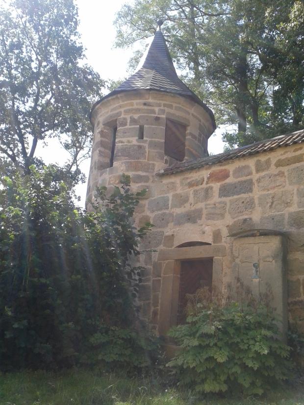 Ein Türmchen, das die Kirche in den Reformationswirren schützen sollte.