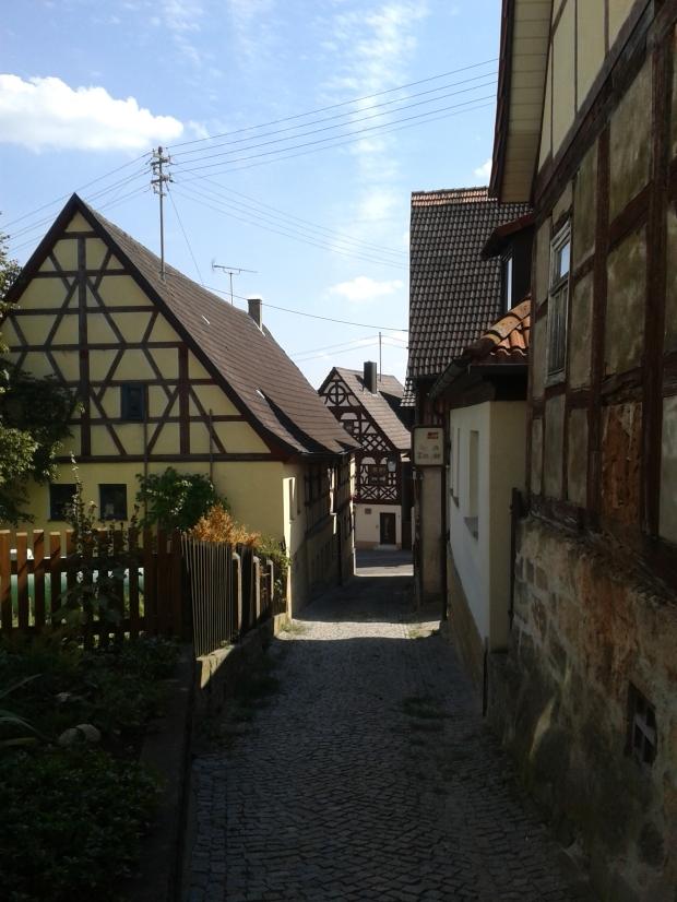 Das Fachwerk-Dorf Mürsbach.