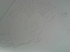 Detail der Decke...