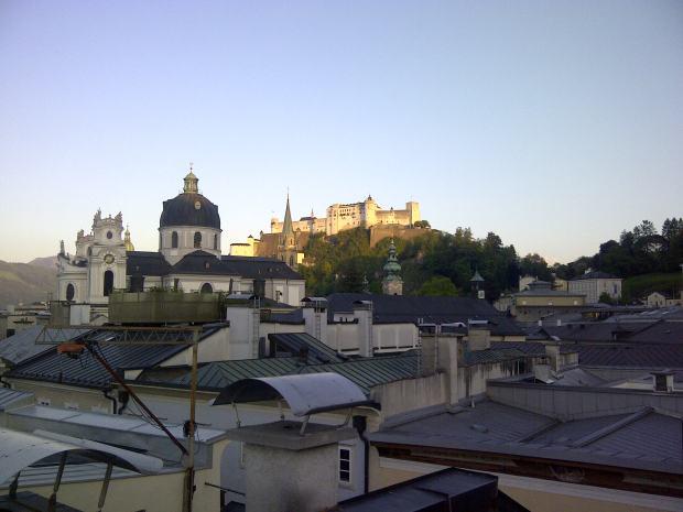 Sollte in Salzburg mal die Sonne scheinen, kann es da ganz nett sein