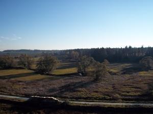 Im Herbst erzählen die Waldnaabauen ein barockes memento mori.