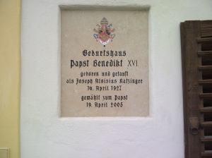 Hier wurde nicht nur der Papst geboren...