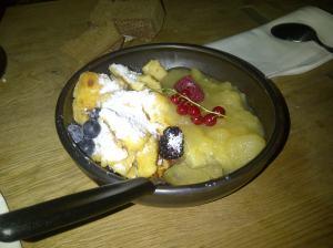 Welch opulentes Mahl, pssend für runde Bäuchlein!