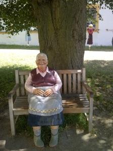Diese Oma hat einen ziemlichen Dickkopf
