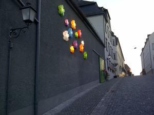 Für diese Pril-Blumen mussten die Tirschenreuther lange abspülen