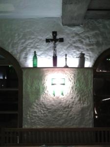 Wer hier Zoigl trinkt, was Gscheids isst und a Gaudi hat, auf den passt der Liebe Gott auf. Auf die anderen natürlich auch.