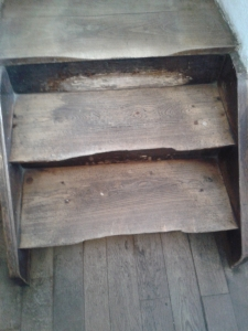 Eine so eine Treppe muss in die Großaufnahme!