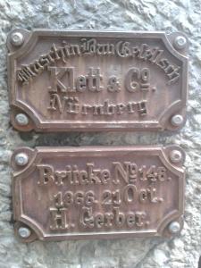 Dass es die Brücke gibt, haben die königstreuen Bayern offensichtlich den Franken zu verdanken.