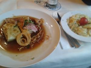 Das Fleisch und die Zutaten kommen zumeist aus Bayern.