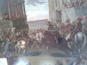 Graf Hermann von Habsburg-Kastl stirbt bei einem Turnier.
