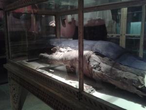 Jeder weiß, dass die CSU Leichen im Keller hat, diese stammt sogar aus dem 7. Jh. vor Christus.