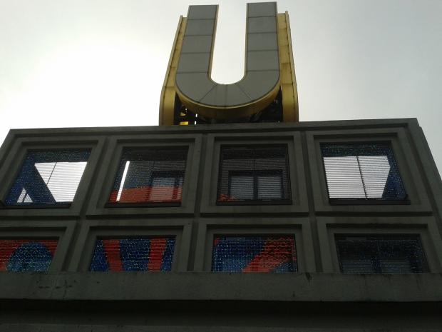 Das U steht nicht für U-Bahn, sondern für Unionsbrauerei.