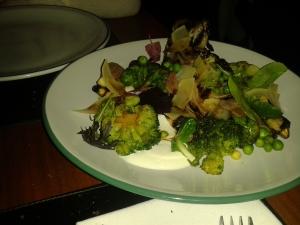 Das wohl beste Gemüse meines Lebens.