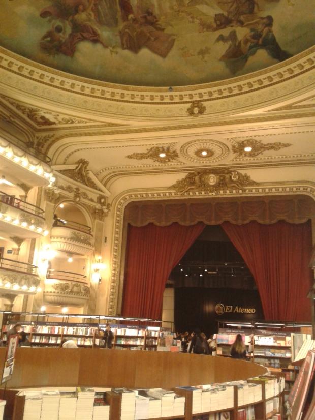 So geht Buchhandlung in Argentinien.