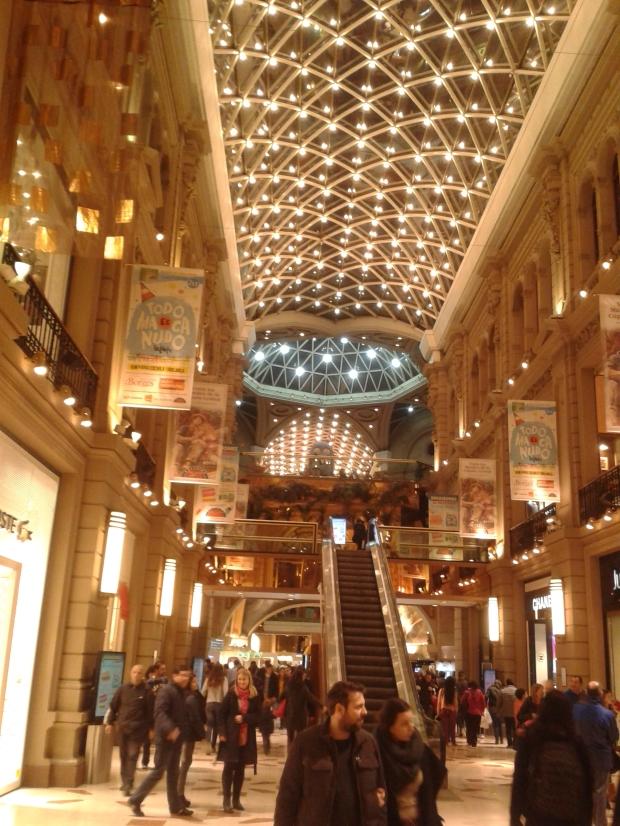 So muss ein Einkaufszentrum aussehen.