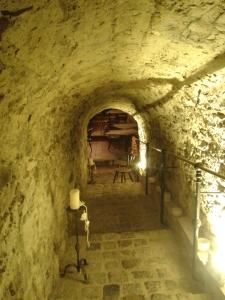 Ein stimmungsvoller Abgang zum Keller.