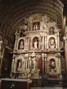 Der Altar in der Jesuitenkirche.
