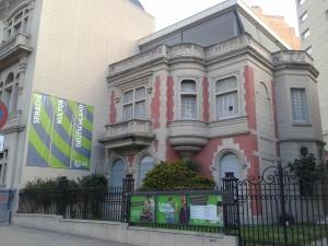 Ganz putzig: Das Goethe Institut.