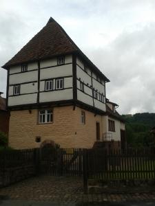 Das älteste Fachwerkhaus Bayerns.