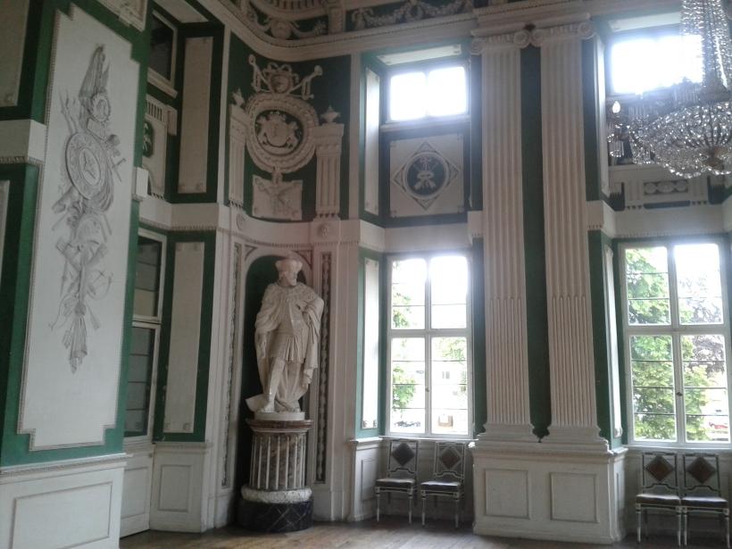 Der grüne Saal.