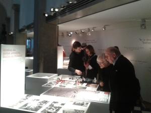 Die Ausstellungsstücke sind nach Gruppen geordnet.